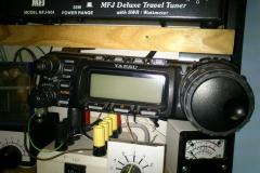 FT-857D montáž panelu