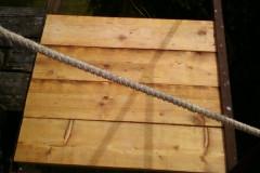 Nová podlaha na stožáru
