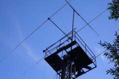 Stožár na radioklubu OK1KKI